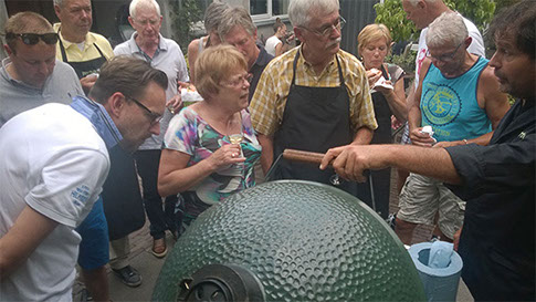 Big Green Egg Kookworkshop